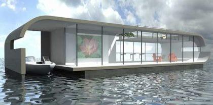 amsterdam holanda casas flotantes waterstudio