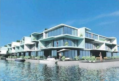 casas flotantes holanda waterstudio
