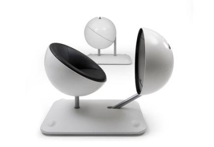 Globus oficina esférica móvil multifuncional