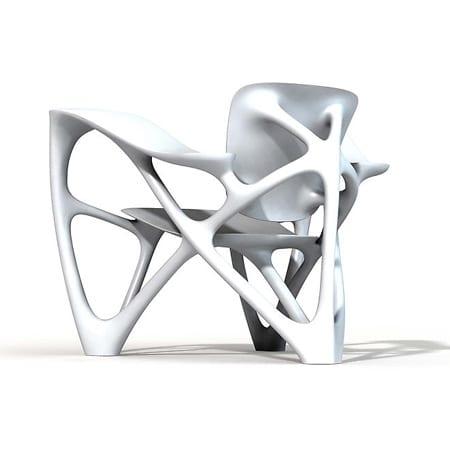 armchair sillon joris laarman bone diseño