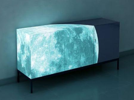 aparador fluorescente luna llena