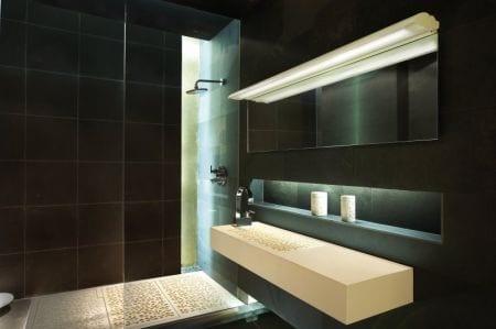 ala lampara b.lux baño luz