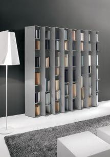 librerias estanterias salon moderno