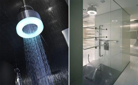 cromoterapia duchas baño