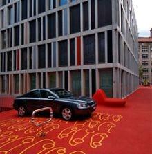 city lounge4 11 City Lounge, el color rojo inunda la calle
