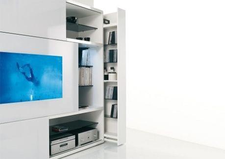 television plasma mueble acerbis tuttuno