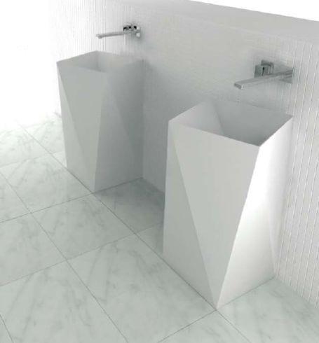lavabos baños minimalistas artceram