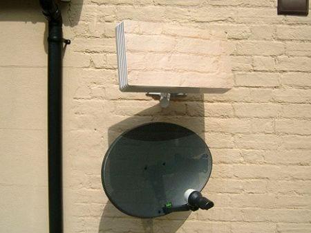 squish antena parabolica via satelite