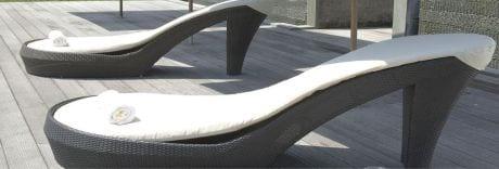 tumbona diseño shoes design