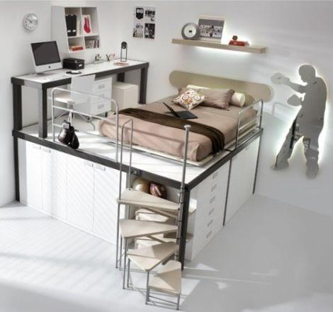 dormitorios juveniles decoracion diseño camas