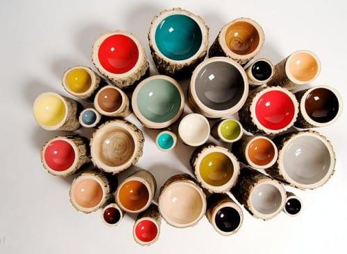 diseño decoración recipientes bowls tazones