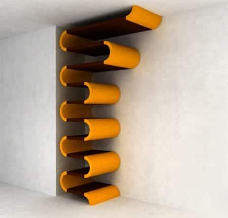 estanterías diseño biblioteca librería maria yasko