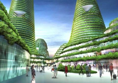 arquitectura ciudad ecologica corea Gwanggyo