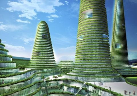 gwanggyo project competition won mvrdv architects4 Gwanggyo Power Centre, la ciudad ecológica