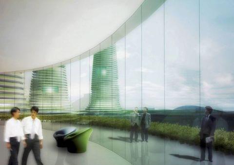 gwanggyo project competition won mvrdv architects5 Gwanggyo Power Centre, la ciudad ecológica