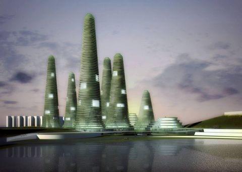 gwanggyo project competition won mvrdv architects7 Gwanggyo Power Centre, la ciudad ecológica