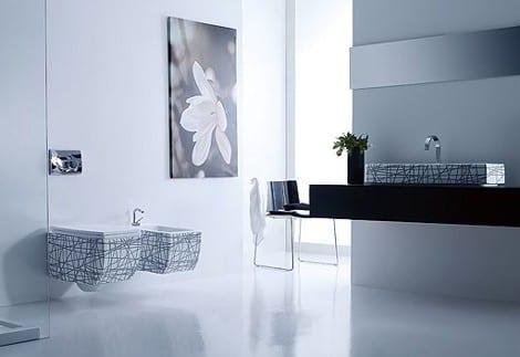 decoracion baño diseño contemporaneo lavabos sanitario