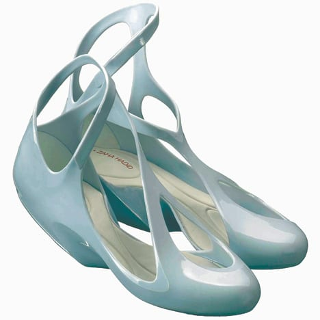 melissa zapatos zaha hadid diseño plastico