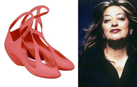 zaha hadid shoes diseño melissa
