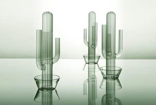 diseño jarrones cactus plantas minimalista