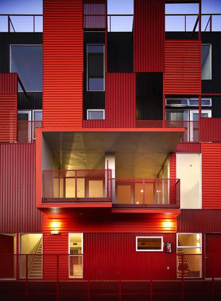 arquitectura urbana contemporanea diseño edificios