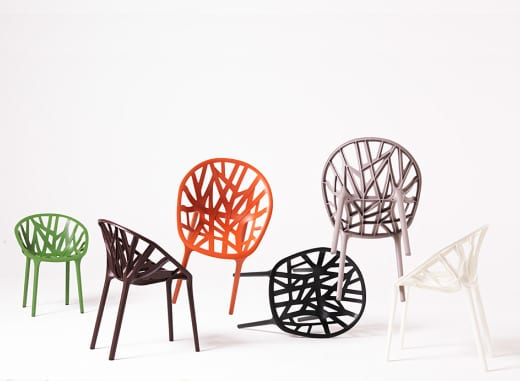 silla vegetal diseño decoracion plastico