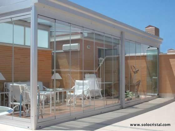 Cortinas de cristal para tus casas