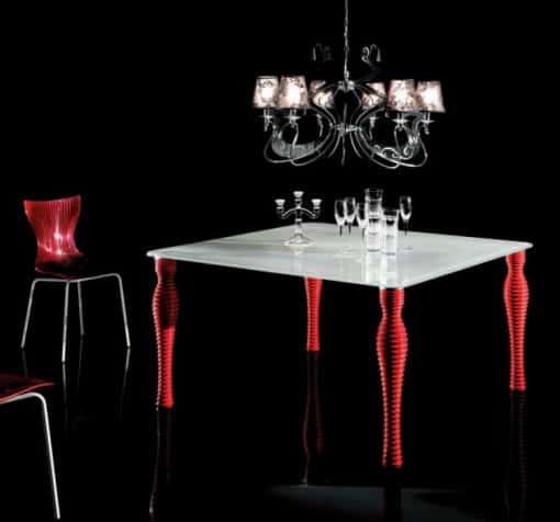 mesas modernas diseño italiano
