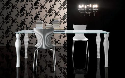 mesas contemporaneas diseño italiano