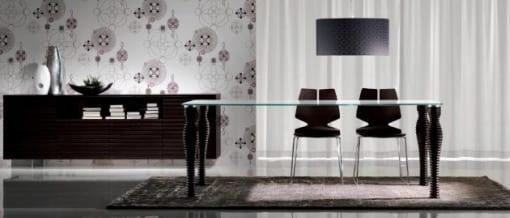 mesas minimalistas diseño italiano