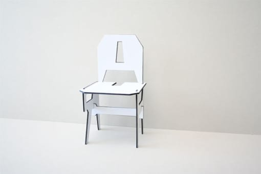 silla minimalista chair