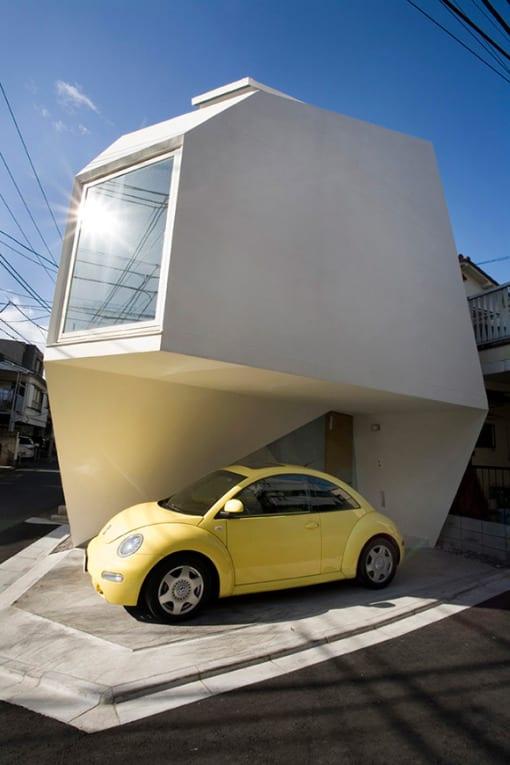 arquitectura casa edificio futurista
