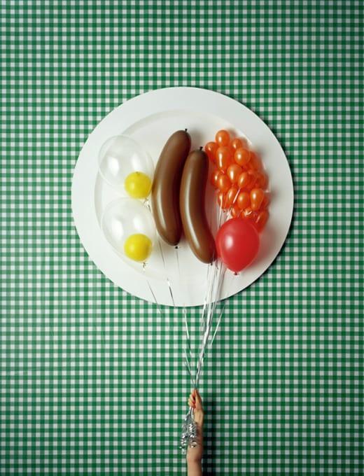 desayuno ingles fotgrafias globos