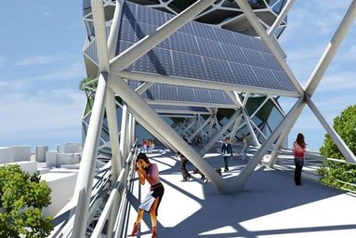 parque vertical urbanismo arquitectura mexico