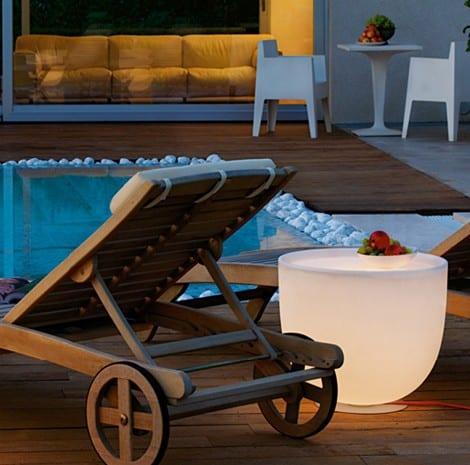 mobiliario de diseño piscina