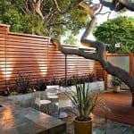 precioso diseño de jardin