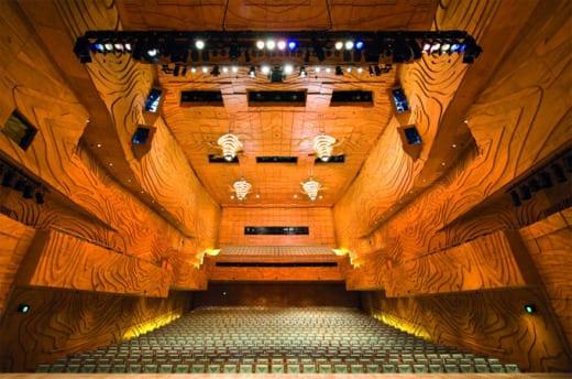 arquitectura diseño teatros melbourne