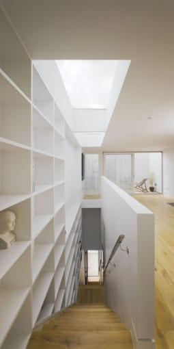casa minimalista grangegorman arquitectura diseño