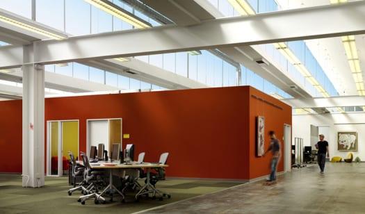 diseño oficinas facebook decoracion