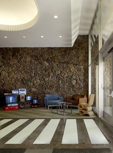 decoracion y diseño oficinas de facebook