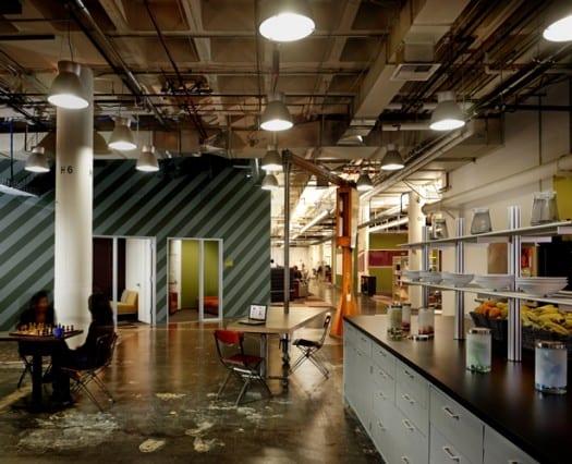 nuevas oficinas de facebook decoracion