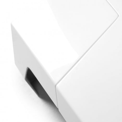 mesa blanca de centro