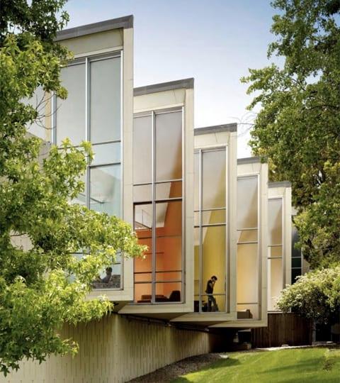 diseño oficinas facebook exteriores