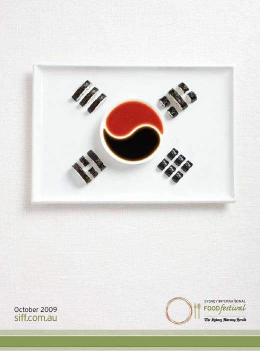 carteles sydney comida diseño grafico