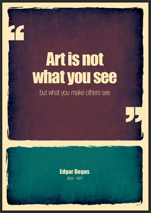 frases arte creatividad genios artistas carteles