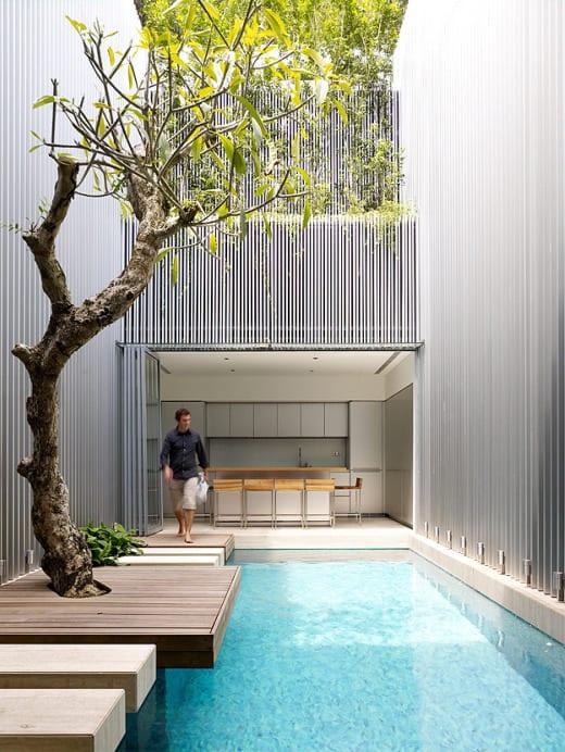 decoracion minimalista contemporanea oriental