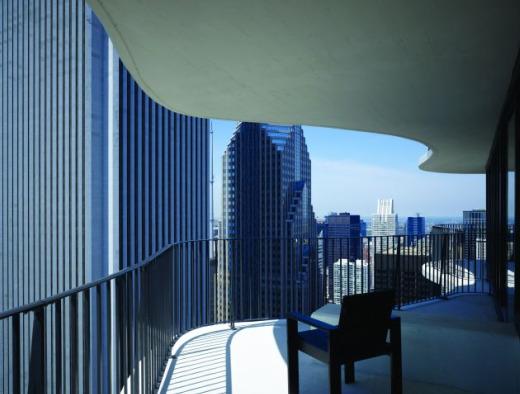arquitectura futurista contemporanea aqua tower