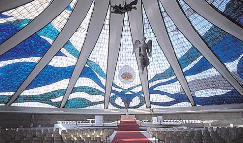 oscar niemeyer catedral brasilia