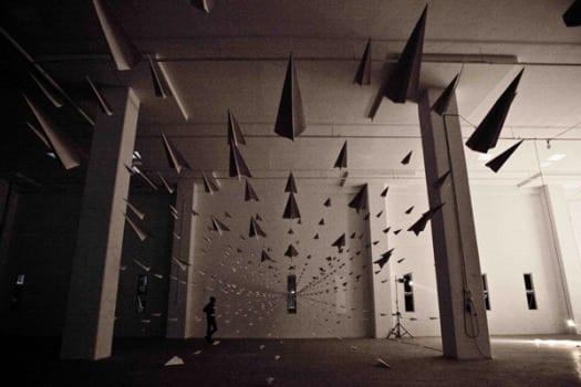 planes4 Aviones de papel, por Dawn Ng