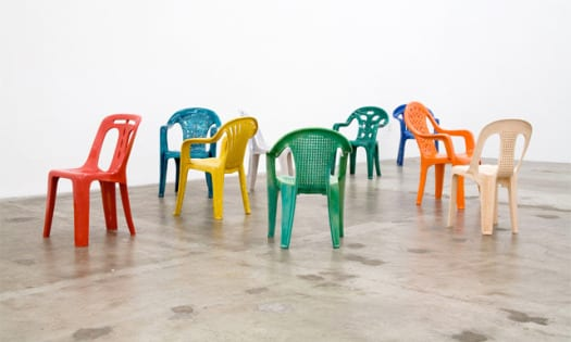 sillas monobloc plastico porcelana